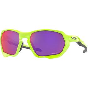 Oakley Plazma Sunglasses Men matte retina burn/prizm road
